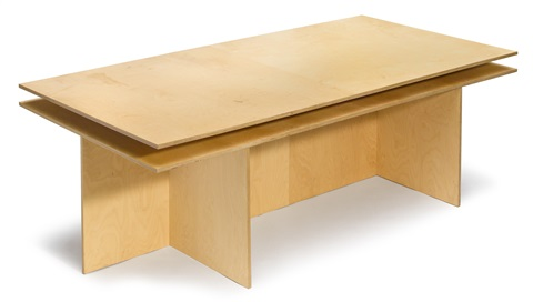 table by donald judd