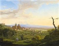 oppenheim am rhein by johann theodor goldstein