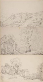 paysages (bk w/ 30 works) by rodolphe töpffer