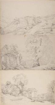paysages (bk w/ 30 works) by rodolphe töpffer