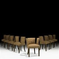 dining chairs (set of 8) by eliel saarinen