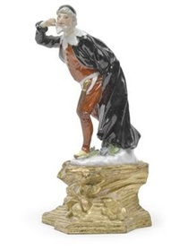 pantalone (from commedia dell'arte) by johann joachim kändler and peter reinicke