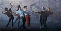 飞天女儿 (dancers) by bai jingzhou