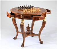 Delightful Maitland Smith. Game Table