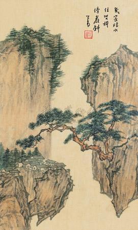 临水人家 landscape by pu ru