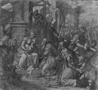 die anbetung der könige by leonardo corona
