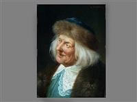 portrait eines alten mannes by august stephan
