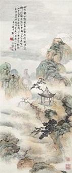 观梅图 by deng chunshu
