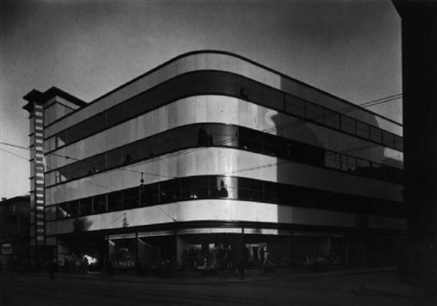 warenhaus gelsenkirchen architekt bruno paul by werner mantz