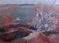 paysage méditerranéen by mathilde arbey