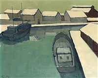 vinterhamn by helge linden