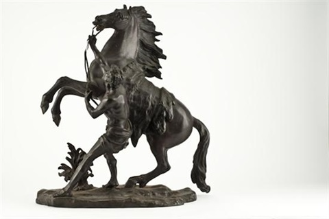 cheval de marly by guillaume coustou the elder