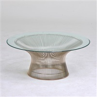 coffee table by warren platner
