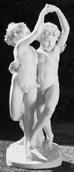 italiensk figurgruppe by giovanni bastianini