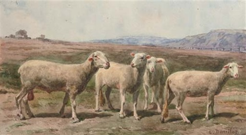 the flock by léon barillot
