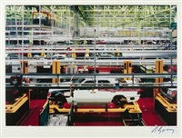 mercedes (rastatt) by andreas gursky