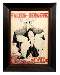 folies bergere poster by leo fontan