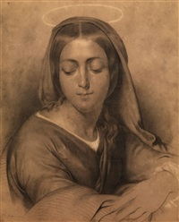 la vergine by francesco hayez