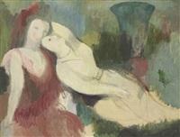 scène bucolique by marie laurencin