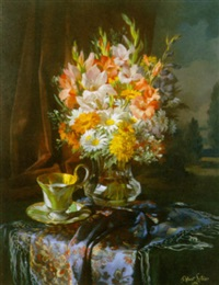 blomsteropstilling by robert leitner