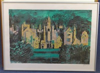 harlaxton manor by john piper