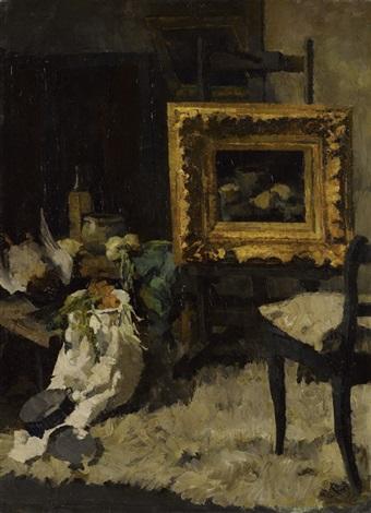 atelier stillleben by theodor alt