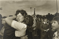 graduation-bangor high school, pa, june by larry fink
