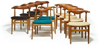 side chairs (set of 10) by knud faerch