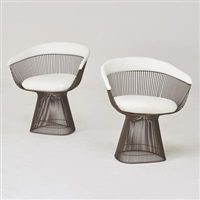 Pair Of Lounge Chairs, 1970u20131989