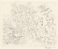 robert williams nurse with baby by robert williams