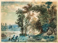 waldlandschaft by carl jungheim