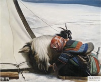melkende nomadin by liu ning