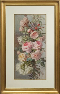 roses (+ another; pair) by theresa maria hegg