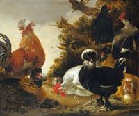 hühnerhof by gysbert gillisz de hondecoeter