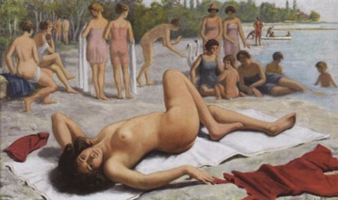 am strand by william victor aubert