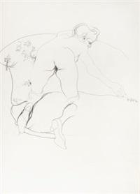 weiblicher akt by helmut pfeuffer