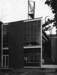 sowjetischer pavillon auf der pariser kunstgewerbeausstellung by konstantin stepanovic melnikov
