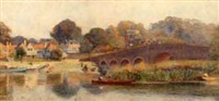 village of sonning-on-the-thames by walter h. goldsmith