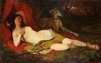 ruhende diana by friedrich von amerling