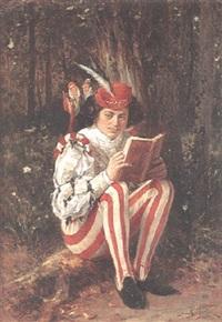 läsande page by paul emile antony morlon