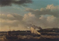 sailing ships off the coast of britain by thomas a. binks