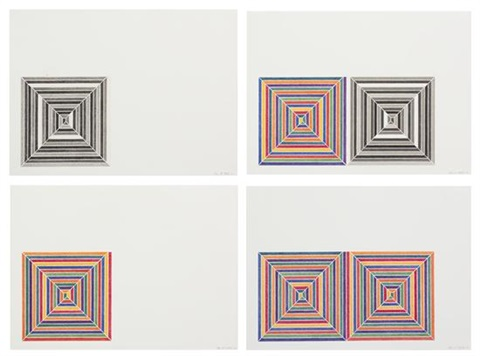 jaspers dilemma 4 works by frank stella