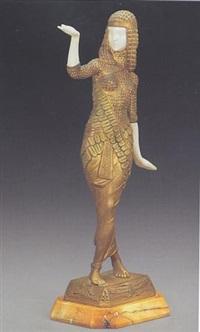 ägyptische tänzerin by julien monier