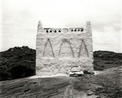 tomb near hospet by wolfgang laib