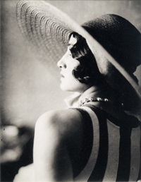 renee, juan les pins, mai 1930 by jacques henri lartigue