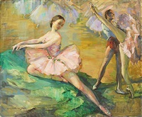 ballet dancers by marian williams steele