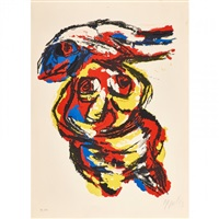 figurative abstract by karel appel