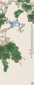 桐枝双栖 by liu bonong