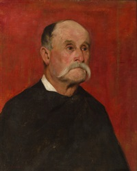 portrait of a gentleman by jean-charles cazin