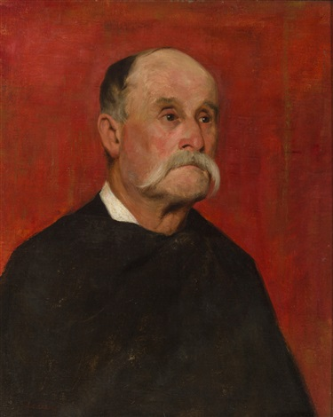 portrait of a gentleman by jean charles cazin
